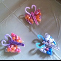 Butterfly favors for birthday party