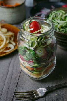 By now you've likely seen them all over the Internet, in magazines and on your co-workers' desks at lunch. Mason jar salads have quickly become a thing because, as it turns out, they're the perfect, portable solution for getting in your greens while on the go.