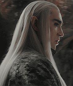 "farewellprincefili: ""Thranduil and Tauriel hair appreciation post "" Legolas Et Thranduil, Lee Pace Thranduil, Rr Tolkien, Tolkien Books, Misty Eyes, O Hobbit, Bilbo Baggins, Film Movie, Movies"