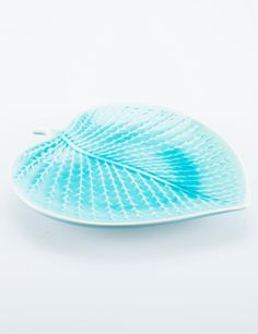 LEAF fat turkos L | Plates | Ceramic/glass | Glas & Porslin | Inredning | INDISKA Shop Online