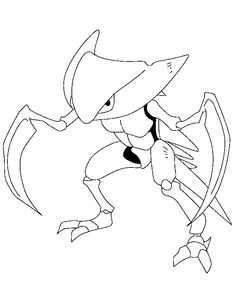 Legendary Pokemon Coloring Pages 017 - 69ColoringPages.com
