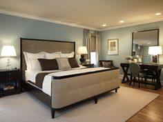 Contemporary Master Bedroom -  Artistic Interiors Inc