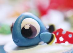 Finding Dory cupcakes - Cake by Cakes! by Ying