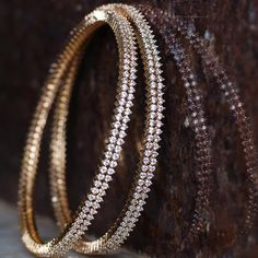 Planning to shop the best gold plated bangle designs online? Then do check out the amazing range of designs online here. Plain Gold Bangles, Gold Bangles For Women, Solid Gold Bangle, Gold Bangles Design, Gold Plated Bangles, Gold Jewellery Design, Bengal, Jewelery, Diamonds