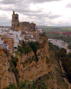 Arcos de la Frontera, Andalucia, Spain.  The most facinating place I visited. Spectacular views.