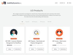 This is the second approach for Usability Dynamics inc product page.