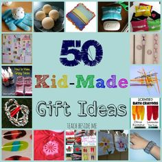 kid made gifts for christmas and birthday presents - Christmas Present Ideas For Kids
