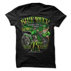 Shamrock 75th Anniversary Daytona Bikeweek T-shirt #sunfrogshirt