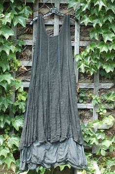 Cynthia Ashby Linen Gauze Dress