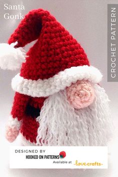 ~ Affiliate Link Crochet Gonk Gnome Tutorial pattern from Ling Ryan - The base for A GONK'S JOURNEY, where you'll find many FREE crochet outfits to fit him! Disney Crochet Patterns, Modern Crochet Patterns, Doily Patterns, Crochet Designs, Free Christmas Crochet Patterns, Crochet Christmas Decorations, Holiday Crochet, Christmas Knitting, Xmas Decorations