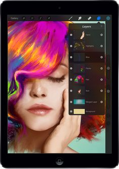 Procreate 2 brings GPU accelerated filters, 4K canvases & 64-bit to iPad app - Digital Arts