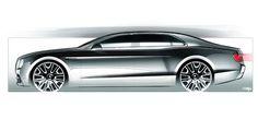 Bentley Flying Spur Sketches - Automotive Concept Design:
