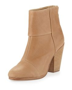 Newbury+Leather+Ankle+Boot,+Sable+by+Rag+&+Bone+at+Neiman+Marcus.