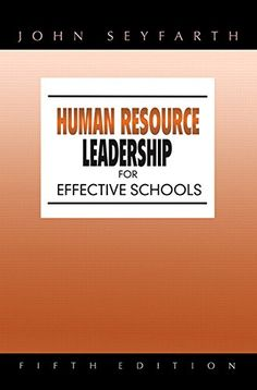 13 best business human resources images on pinterest resource human resource leadership for effective schools 5th edition fandeluxe Gallery