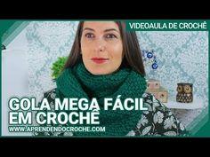 Gola Mega Fácil em Crochê - Aprendendo Crochê - YouTube