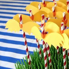 Milk Eyes: Dr Seuss Themed Birthday Party Decorations and Activities For Toddlers, with Free Printables