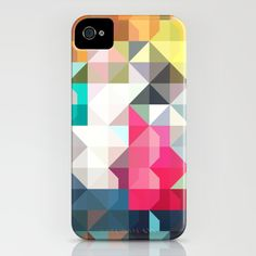 color story - pixelated warfare iPhone Case