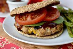 Clubhouse Turkey Burgers by Iowa Girl Eats