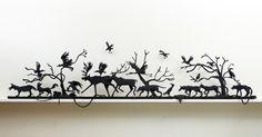 Carol Eckert – Symbols and stories, fiber sculptures