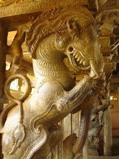 ரிக் வேதம் – Tamil and Vedas Indian Temple Architecture, Art And Architecture, Hindu Statues, Stone Pillars, Hampi, Thai Art, Hindu Art, Incredible India, Mythical Creatures