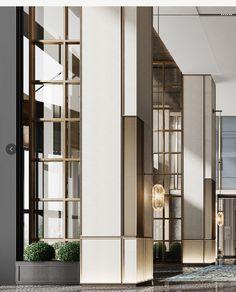 Columns, Divider, Composition, Walls, Detail, Interior, Room, House, Furniture