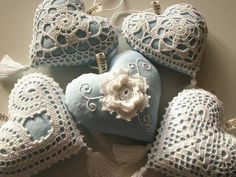 Lace hearts ♥
