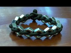 """(14) """"How You Can Make A Super Simple Hex Nut And Paracord Bracelet"""" - YouTube"""