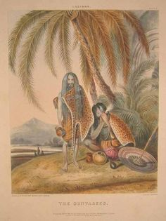 """""""'The Sunyasees, 'wearing leopard skins by William Taylor of the Bengal Civil Service, 1842. print."""