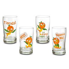Orange Bird Juice Glass Set