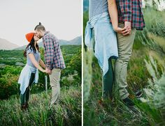 Utah Mountain Engagement Photos - Inspired By This