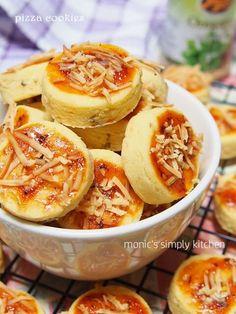 Homemade Biscuits Recipe, Homemade Cookies, Biscuit Recipe, Brownie Cookies, Chocolate Cookies, Cake Cookies, Cookie Pizza, Pizza Cookies, Indonesian Food