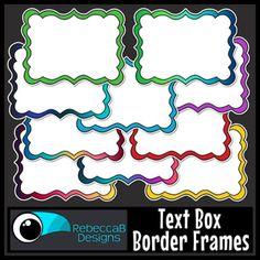 Powerpoint Presentations, Free Teaching Resources, Frame Clipart, Teaching Materials, Digital Papers, Box Frames, Art Activities, Classroom Decor, Social Studies