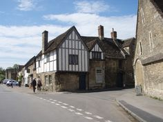 The beautiful National Trust Village of Lacock has appeared in Cranford, Pride and Prejudice, Harry Potter and The Other Boleyn Girl. (c) Jenny Butler
