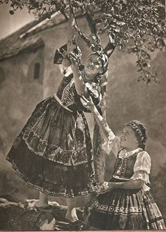 World of Ethno: Photo Vintage Photographs, Vintage Photos, Folk Dance, Folk Costume, Costumes, Rare Pictures, Historical Photos, Old World, Old Photos