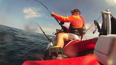OffShore DE JetSki Fishing 7-10-16