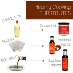 Healthy cooking just became so much easier with Naked Coconuts. Substitute canola oil with coconut oil, sugar with coconut nectar and soy sauce with our soy-free sauce!