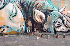 """La mujer """"real"""" en el arte urbano de Alice Pasquini - Cultura Colectiva"""