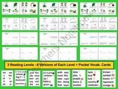 St. Patrick's Day Emergent Readers Mini Books and Harder- product from The-Teachers-Post on TeachersNotebook.com