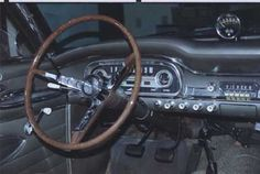 Paul and Sharlene Cartier's 1963 Falcon Sprint Hardtop...interior detail with ta chometer and padded dash  (410×275)