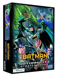 Bought it for my Bat man loving niece for Christmas last year. Keeping it here for other possible gifts. BATMAN GOTHAM CITY STRATEGY GAME - BOARDGAME Batman Heroclix http://www.amazon.ca/dp/B009KBCVAC/ref=cm_sw_r_pi_dp_luF8ub0J3S1NV