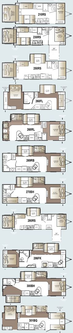 Keystone Outback travel trailer floorplans