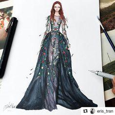 Fashion Illustration @ Instagram