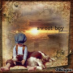 Sweet Boy and his Dog