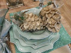 Bleached Pinecones for Fall & Christmas Decor.  Bleaching pinecones turns them creamy white. DIY instructions at Purple Hues & Me.