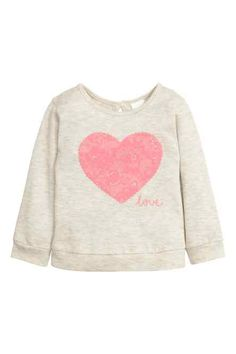 H&M - Knitted jumper with a motif £6.99
