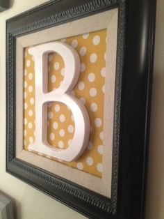 Diy Projects To Try, Craft Projects, Craft Ideas, Cute Crafts, Diy Crafts, Alphabet Wall Art, Picture Frame Art, Repurposed Items, Diy Photo