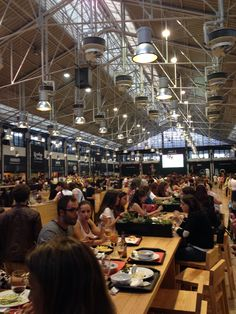 If you're in Lisbon, definitely go to Mercado da Ribeira. Every stall has good food and drink. It's a must. More info here: http://www.lisbonlux.com/lisbon-shops/mercado-da-ribeira.html