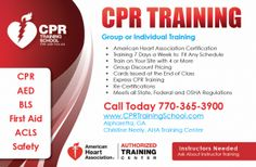 CPR Training Marketing | Marketing Mailers