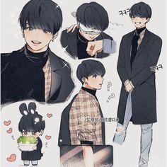 Jungkook Fanart, Fanart Kpop, Vkook Fanart, Bts Jungkook, Bts Chibi, Anime Chibi, Fan Art, Character Art, Character Design