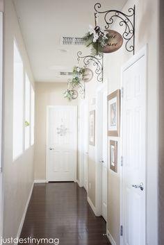 Hallway signs Just Destiny Mag